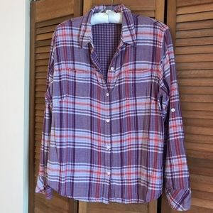Riders by Lee Button Down Shirt EUC